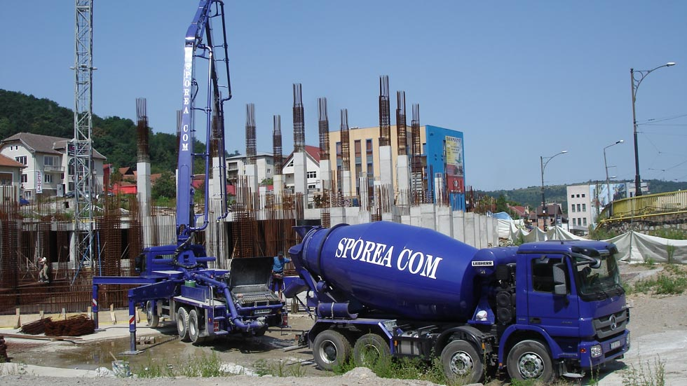 Pompare beton - Pompă Putzmeister 36 m